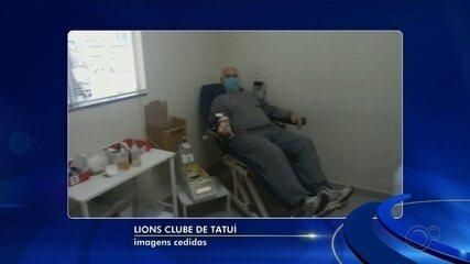 Entidade lança campanha para incentivar doação de sangue em Tatuí
