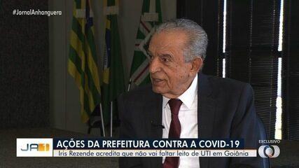 Iris Rezende diz em entrevista exclusiva que Goiânia tem excesso de leitos para Covid-19