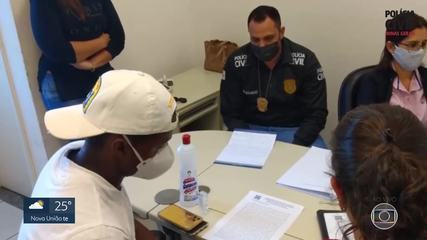 Depois de antecipar depoimento na Polícia Civil, Cazares volta a treinar no Atlético-MG