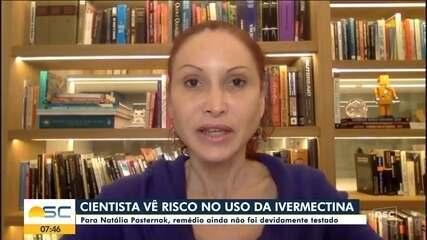 Natalia Pasternak fala sobre coquetel de medicamentos com ivermectina