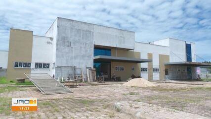 Obra do Hospital Regional de Guajará-Mirim está em 80%