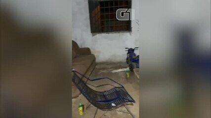 Vídeo mostra casa onde família de gerente de banco foi mantida presa durante sequestro