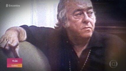 'Encontro' homenageia Vinícius de Moraes nos 40 anos da morte do compositor