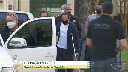 Fundador da Ricardo Eletro presta depoimento de três horas ao Ministério Público