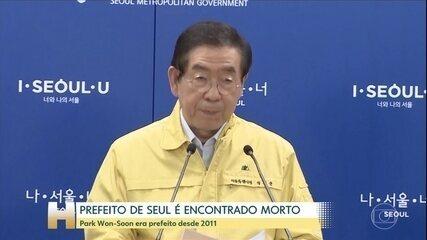 Prefeito de Seul é encontrado morto