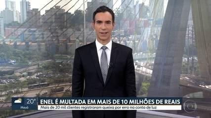Enel é multada em mais de 10 milhões de reais