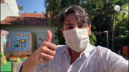 Bruno de Luca organiza shows beneficentes em casa