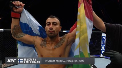 Melhores momentos de Makwan Amirkhani x Danny Henry no UFC 251