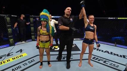 Melhores momentos de Jéssica Bate-Estaca x Rose Namajunas no UFC 251