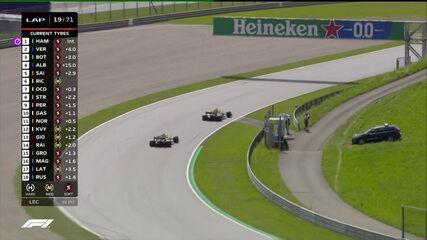 GP da Estíria: Ricciardo ultrapassa Ocon