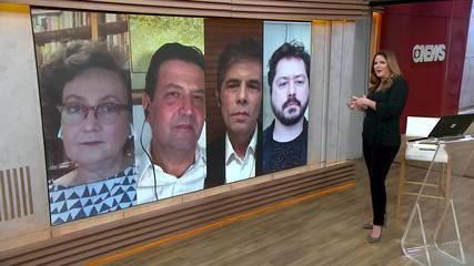 Ex-ministros Luiz Henrique Mandetta e Nelson Teich discutem pandemia e saúde no Brasil