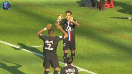 Veja os gols do amistoso Le Havre 0 x 9 PSG, com dois de Neymar
