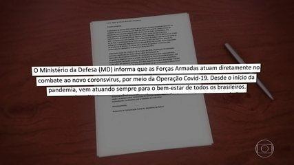 Defesa se manifesta sobre declaração de Gilmar Mendes que associa Exército a genocídio