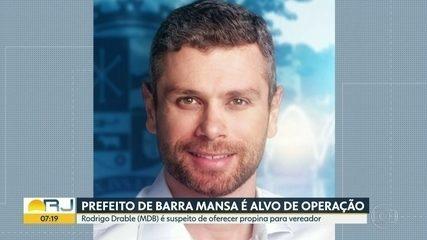 Prefeito de Barra Mansa é alvo de operação do MP e Polícia Civil