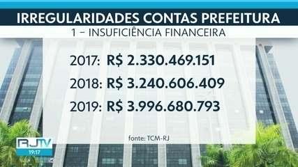 TCM vê pelo menos 15 problemas em balanço de 2019 da Prefeitura do Rio