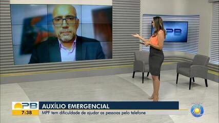 Auxílio Emergencial; MPF tem dificuldade de ajudar as pessoas por telefone
