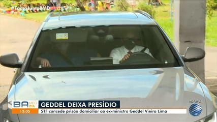 Ex-ministro Geddel Vieira Lima acaba de sair do presídio em Salvador; confira