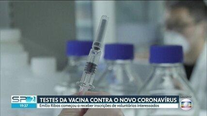 Instituto Emílio Ribas recebe inscrições de profissionais de saúde para testes de vacina