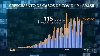 Para especialista, aumento de casos de Covid mostra que epidemia não está sob controle