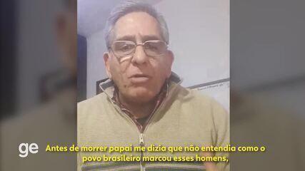 70 anos do Maracanazo: filho de Ghiggia lembra sentimento de amor do uruguaio pelo Brasil