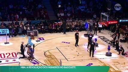 Tecnologia muda o estilo do basquete no mundo