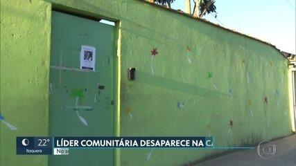 Polícia investiga desaparecimento de líder comunitária