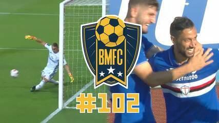 """BMFC #102: Defesaça de goleiro do Benfica e pintura de cobertura de """"vovô"""" da Sampdoria"""