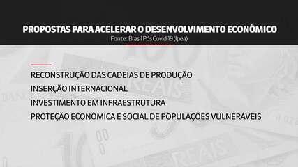Em julho, Ipea apontou propostas para acelerar a economia após a pandemia; relembre