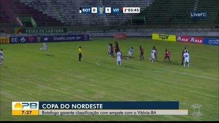 Botafogo-PB x Vitória, pela rodada #8 da Copa do Nordeste
