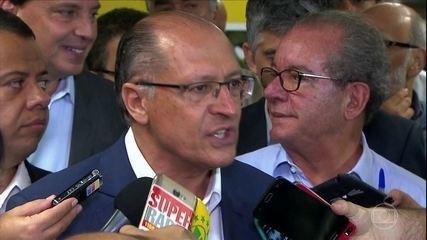 Alckmin é denunciado por corrupção passiva e lavagem de dinheiro