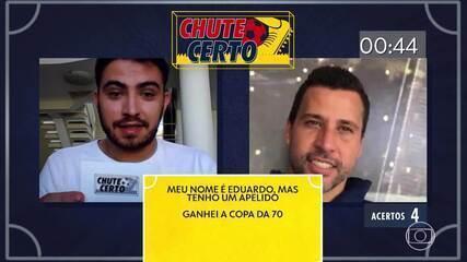 Chute Certo: goleiro Fábio, do Cruzeiro, mostra conhecimento em quiz sobre futebol