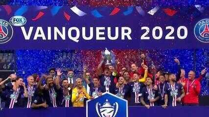 Os melhores momentos de PSG 1 x 0 Saint-Étienne, pela final da Copa da França