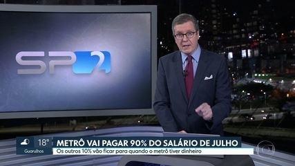 TRT marca audiência de conciliação entre metroviários e o Metrô