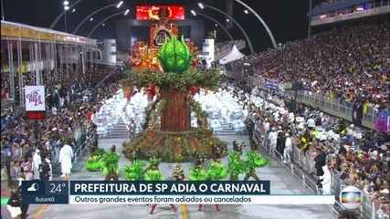 Prefeitura de São Paulo adia o Carnaval