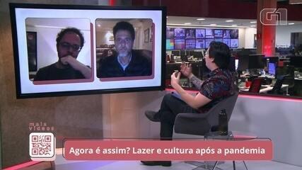 """Sobre possibilidade de shows, Felipe Simas diz que """"no primeiro semestre seria imprudente"""""""