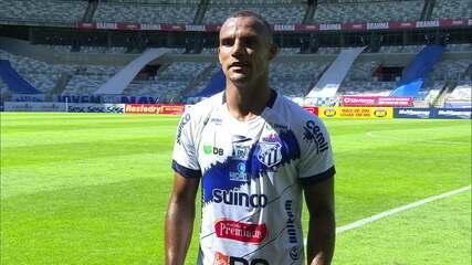 Arilson analisa a derrota da URT para o Cruzeiro, no retorno do Campeonato Mineiro