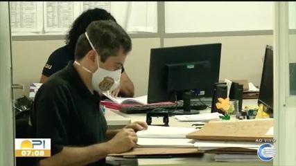 PF faz buscas na sede da secretaria de educação do Piauí, em Teresina