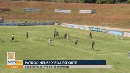 Patrocinense perde para Boa Esporte na volta do Estadual