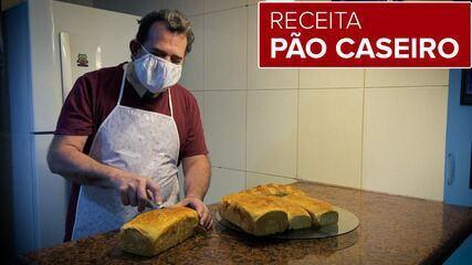 Receita: aprenda a fazer um delicioso pão adocicado