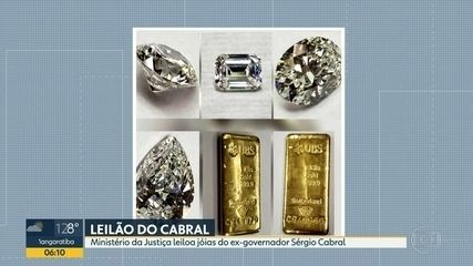 Ministério da Justiça leiloa jóias do ex-governador Sérgio Cabral