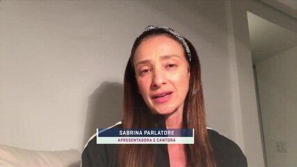 Sabrina Parlatore relembra parceria com Rodrigo Rodrigues