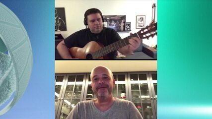 Alex Escobar fala sobre os duetos com Rodrigo Rodrigues