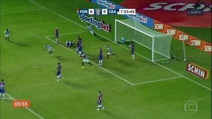 Ceará elimina o Fortaleza em clássico pela Copa do Nordeste