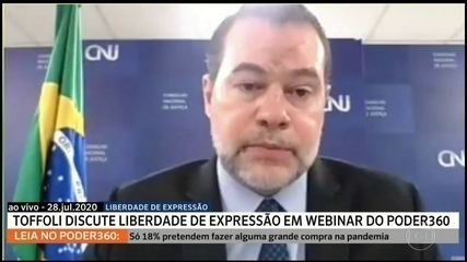 Toffoli defende liberdade de expressão a serviço da informação