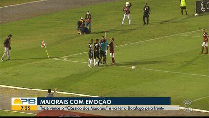 Treze 1 x 0 Campinense, pela rodada #10 do Campeonato Paraibano