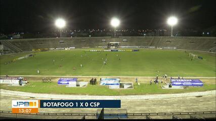 Reportagem de Botafogo-PB 1 x 0 CSP, na rodada #10 do Paraibano