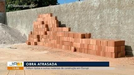 Alta nos preços e falta de materiais de construção atrasa obras em Gurupi