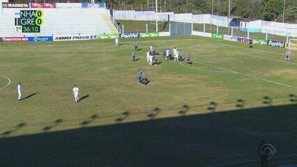 Confira os melhores momentos entre Novo Hamburgo 0x0 Grêmio