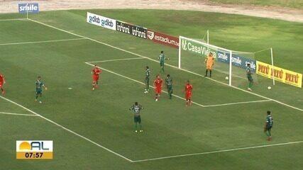 CRB vence o Coruripe na volta dos jogos ao Estádio Rei Pelé