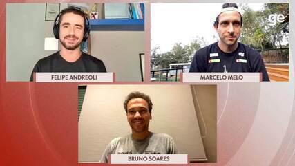 Chamada Olímpica: Felipe Andreoli entrevista os tenistas Marcelo Melo e Bruno Soares